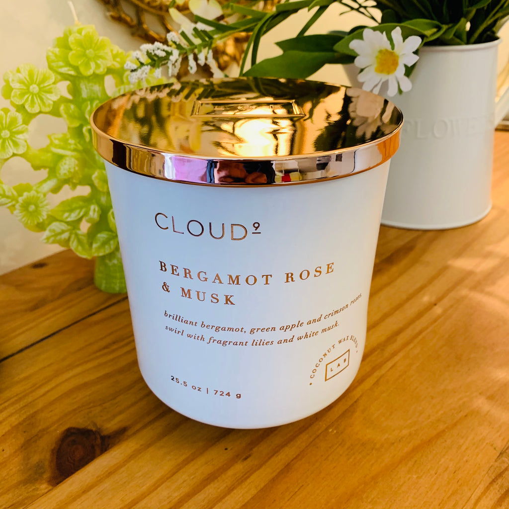 Cloud 9 - Bergamot Rose & Musk - Large