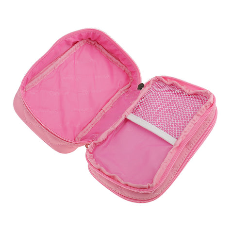 Image of Women Girls Travel Cosmetic Makeup Bag Toiletry Bag Pink