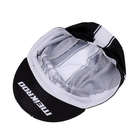 Image of Cycling Hat Casual Hat Moisture Absorption Unisex Black Sun Helmet Black Leisure Hygroscopic and sweat releasing Breathable