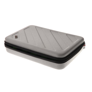 Carrying Case Accessories Storage Box with Carry Handle for Gopro L Gray
