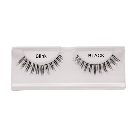 Image of Women Pro Fashionable Eye Makeup Beauty Party Charms 1 Pair Black Handmade Natural Artificial Eyelashes Eye Extensions - 4#