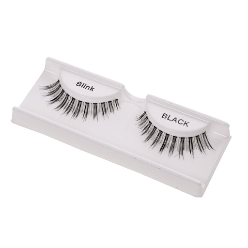 Women Pro Fashionable Eye Makeup Beauty Party Charms 1 Pair Black Handmade Natural Artificial Eyelashes Eye Extensions - 4#