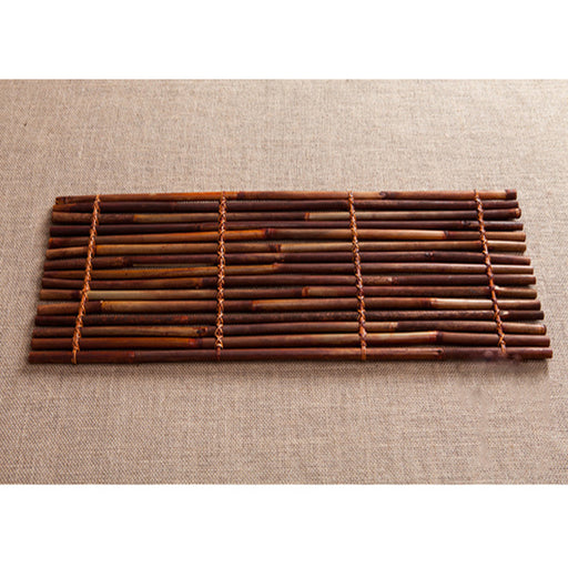 Fashionable Handmade Bamboo Serving Tray Eco-Friendly Service Tray Food Holder Organizer Coaster Table Centerpiece Decor #3