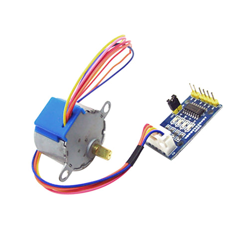 Image of 5V Stepper Motor 28BYJ-48 With Driver Module Board ULN2003 5 Line 4 Phase