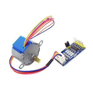 5V Stepper Motor 28BYJ-48 With Driver Module Board ULN2003 5 Line 4 Phase