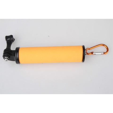 Image of 1/4'' Screw Sponge Handle Holder Grip Stabilizer For Gopro Hero 5 4 3 Sports Camera Orange