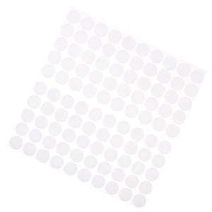 100 Pairs Nylon Hook and Loop Self Adhesive Sticky Coins Dots Spot Discs 20mm