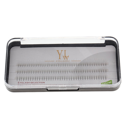 Image of 120 x Natural Long Individual False Eyelash Cluster 3D Wave Eye Lashes Extension Makeup 9mm