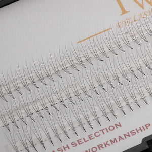 120 x Natural Long Individual False Eyelash Cluster 3D Wave Eye Lashes Extension Makeup 9mm