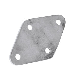 Heavy Duty Boat Diamond Pad Eye Hook Plate - Marine Grade 316 Stainless Steel