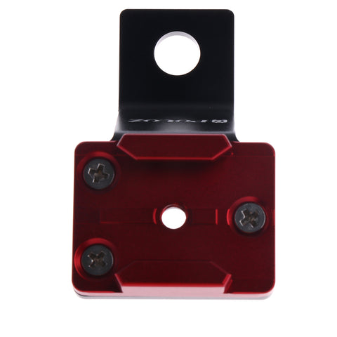 Image of Aluminum Alloy Motorcycle Camera Mount Fixed Holder for GoPro 5/4/3/2/1 Red