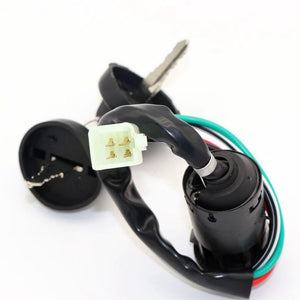 KEY IGNITION SWITCH FOR SUPER DIRT BIKE ATV Taotao Sunl Roketa Chinese 4pin