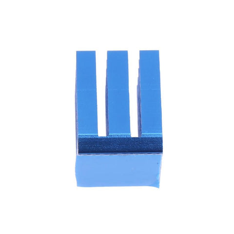 Image of 10 Pcs 3D Printer Parts Accessories Blue Cooling Block Heatsink for TMC2100