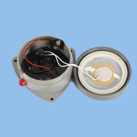 Image of Battery Powered Water Alarm Water Leakage Sensor Detector Kitchen Bathroom Sink Bath Tub Overflow Alarm