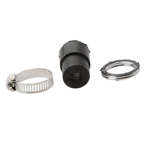 Image of Exhaust Systems Muffler Pipe Gasket Rubber & Seal Clamp Kit for Yamaha PeeWee50 PW 50