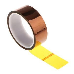 35mm Electronic Industry High 3D Printer Parts Temperature Heat Resistant Adhesive Tape