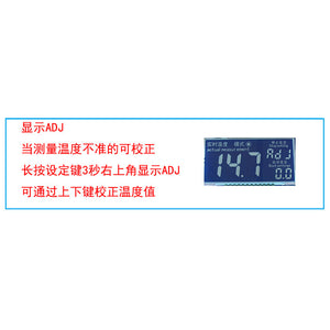 Dual Digital Display Temperature Controller Dual Type-K Thermocouple