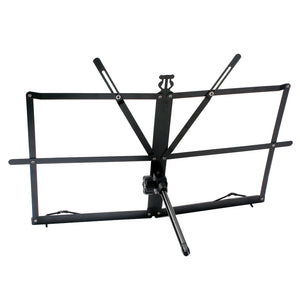 Adjustable Steel Sheet Music Stand Holder Folding Bracket Easy to Carry