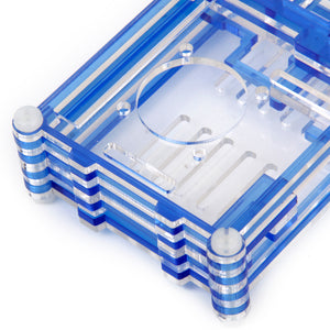 Blue Shell Case Box Enclosure for Raspberry Pi B+/Raspberry Pi 2