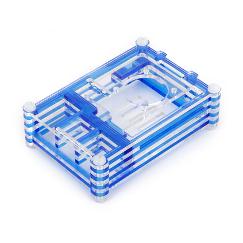 Image of Blue Shell Case Box Enclosure for Raspberry Pi B+/Raspberry Pi 2