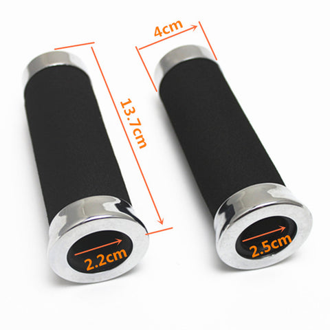 Image of Universal 7/8'' 22mm Motorcycle Scooter Handlebar Handle Grips