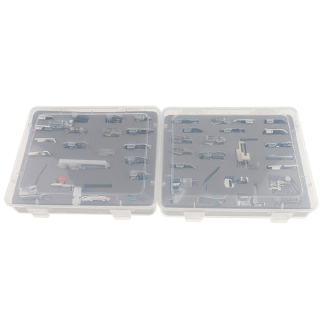 42 Pieces Domestic Sewing Machine Presser Feet Set Kit
