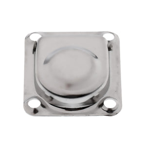 Stainless Steel Flush Mount Pull Ring Hatch Latch Lift Handle Marine Boat Caravan