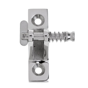 1 Piece 316 Stainless Steel Boat Canopy Cover Deck Hinge Mount Fitting Hardware 90 Degree