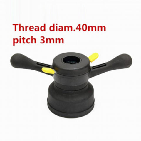 Image of 40mm 3mm Quick Release Hub Wing Nut Wheel Balancer Tire Change Tool
