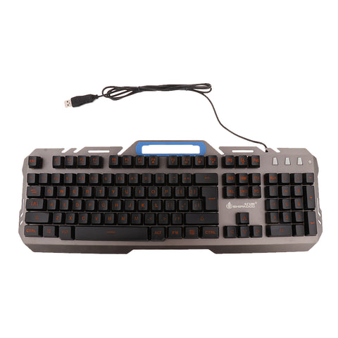 Image of LED Illuminated Backlight Wired Mechanical Gaming Keyboard for Computer PC