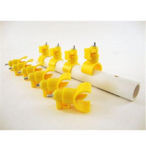 Image of Chicken water feeder Nipples 10pcs for automated watering system New waterer