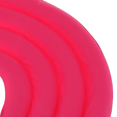 Image of Soft Lightweight Dog Cat Pet Supplies Comfy Pet Neck Collar Nylon Cover Anti-Bite Protector Rose Red L