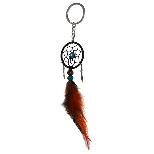 Fashionable Feather Beads Charms Dream Catcher For Home Window Wall Car Hanging Decor Ancient Leaves Hanging Charms