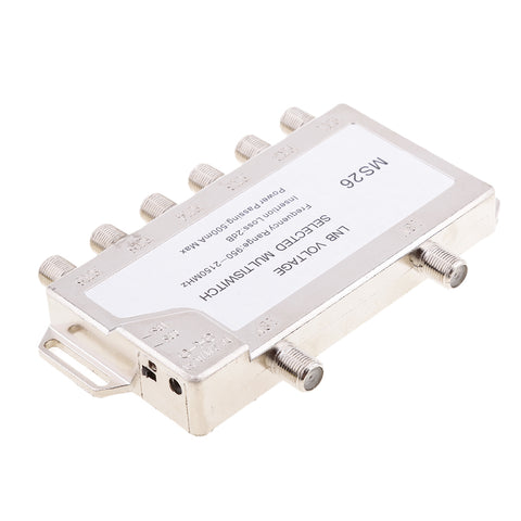 Image of 2 In 6 Diseqc Switch Satellite Multiswitch For TV Receiver
