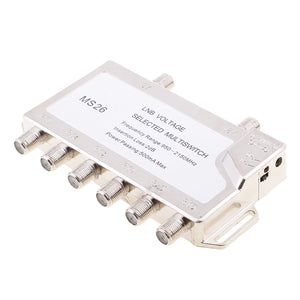 2 In 6 Diseqc Switch Satellite Multiswitch For TV Receiver