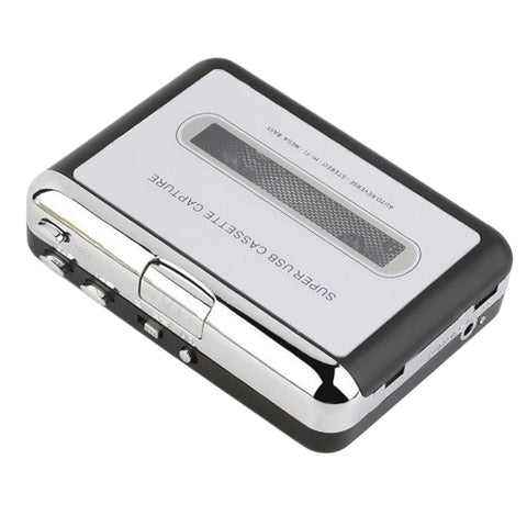 Walkman Digital Tape-to-MP3 Converter USB Cassette Adapter Hifi Music Player