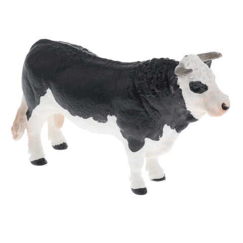 Image of Realistic Animal Model Figures Kids Educational Toy Home Decor - Cow