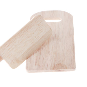 Kids/Baby Pretend Play Wooden Chopping Board + Cutter Kitchen Kitchenware Role Play Game Toys
