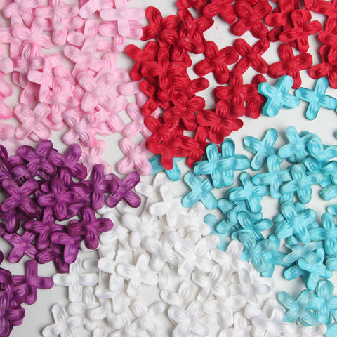 Image of 200 Pieces Coloful Floral Table Confetti Sprinkings Wedding Engagement Venue Decorations