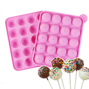 Novelty Lolly Silicone Mould Fondant Cake Mold DIY Baking Tool Party Favor