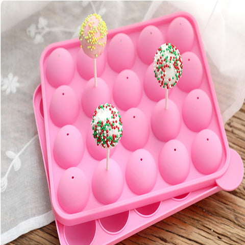 Image of Novelty Lolly Silicone Mould Fondant Cake Mold DIY Baking Tool Party Favor