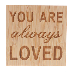 YOU ARE Always LOVED Vintage Wooden Board Plaques Gift Sign Home Decoration