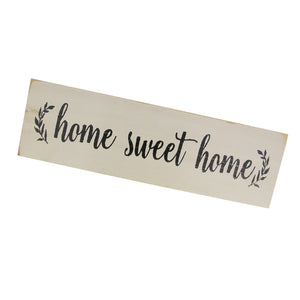 Home Sweet Home-Rustic Wooden Wall Sign Gift Plaque Table Decoration