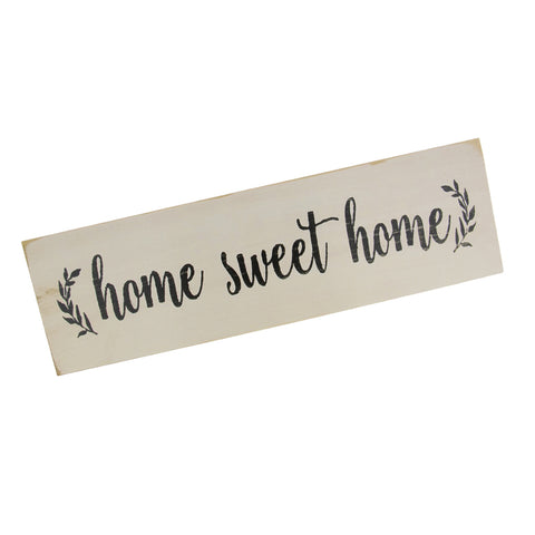 Image of Home Sweet Home-Rustic Wooden Wall Sign Gift Plaque Table Decoration