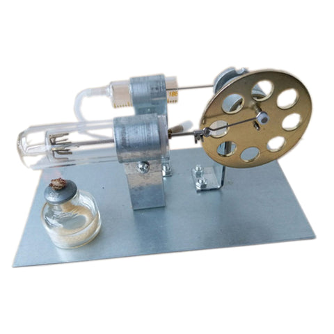 Image of Hot Air Stirling Engine Motor Model Building Kits Power Generator Moter Science Experiment Toy Gift