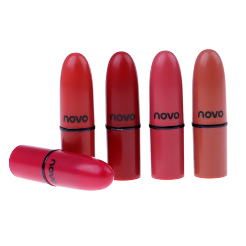Image of 5 Colors Velvet Matte Lipstick Moisturizer Lips Stick Long Lasting Charming