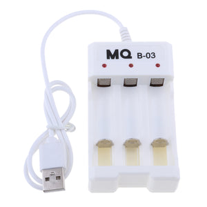MQ Smart Battery Charger for C D AA AAA Ni-MH Ni-CD Rechargeable Batteries with Discharge Function