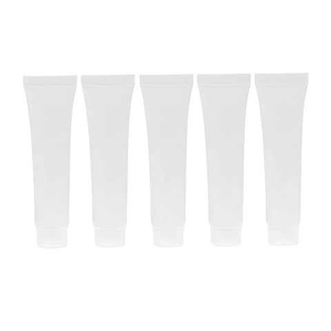 Image of 15 Pieces Plastic Empty Portable Tubes Cosmetic Cream Lotion Travel Bottle Containers Sample1 Bottles 15/50/30ml