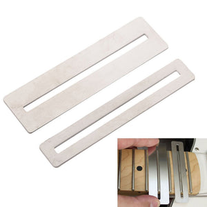 Steel String Action Gauge Measuring Tool and 2pcs Fingerboard Fret Protector Guard Luthier Supply