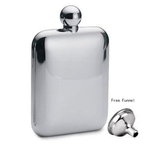 Portable Hip Flask Alcohol Flagon Drinkware with Funnel Best Gift Supply